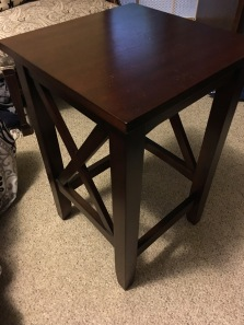 Brown table